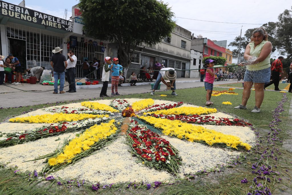El quinto domingo de Cuaresma se llevan a cabo 3 procesiones en la ciudad de Guatemala.