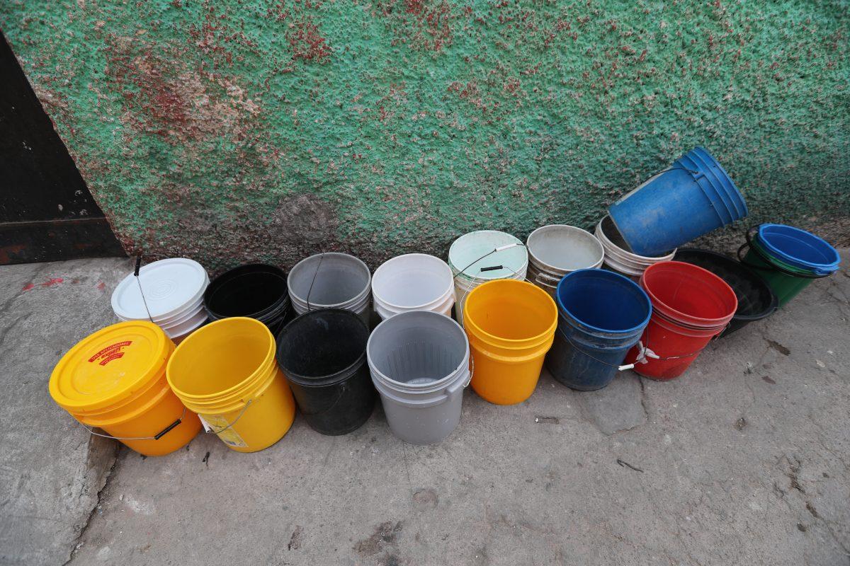 Fotogalería: falta de agua en la Ruedita