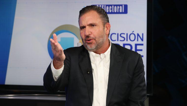 Roberto Arzú, candidato presidencial por la coalición Partido de Avanzada Nacional (PAN) y Podemos. (Foto Prensa Libre: Hemeroteca PL)