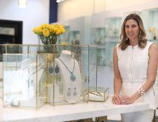 Cristina Santos es especialista en gemas. y la Cofundadora de C´Santos Joyería. (Foto, Prensa Libre: Carlos Hernández Ovalle).