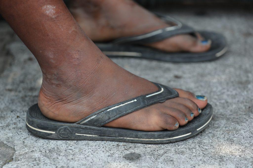 Algunos migrantes afirmaron que llevan días caminando.