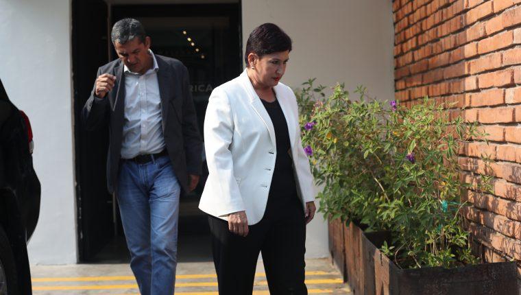 La exfiscal General, Thelma Aldana, espera que una impugnación en la Corte de Constitucionalidad le favorezca para ser inscrita como candidata presidencial. (Foto Prensa Libre: Hemeroteca PL)