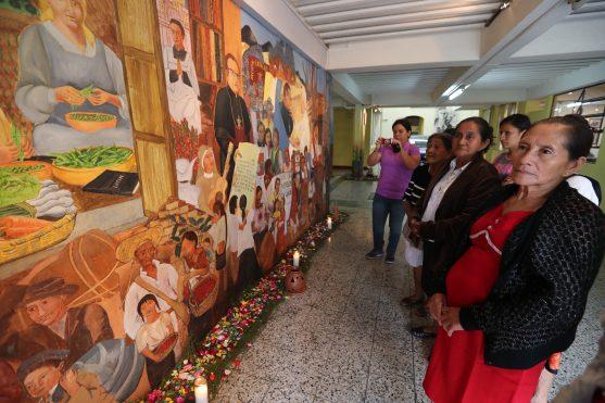 A partir de las nueve de la mañana se abre al público el mural Memoria Viva.