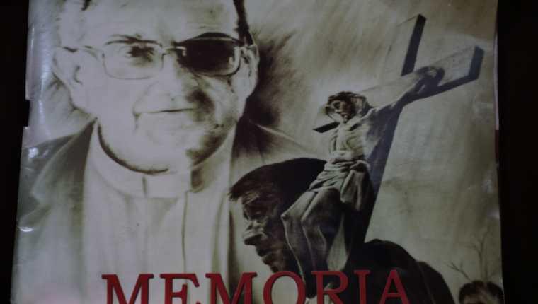 Se conmemoran 23 años de la muerte del obispo Juan Gerardi. (Foto Prensa Libre: Érick Ávila)