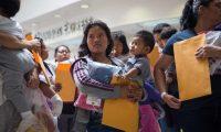 Más de 177 mil familias guatemaltecas han sido interceptadas en la frontera sur de EE. UU. este año. (Foto Prensa Libre: Hemeroteca PL)