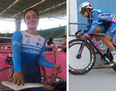 La ciclista guatemalteca, Nicolle Rodríguez, se queda con la medalla de plata en Cali, Colombia