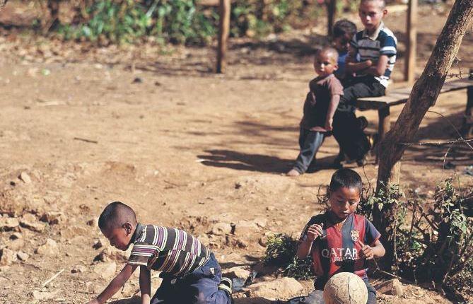 La niñez del área rural tiene pocas oportunidades de desarrollo. (Foto Prensa Libre: Hemeroteca PL)