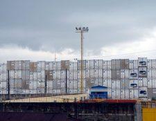 En 2018 el sistema portuario registró una caída de 1% en el movimiento de carga marítima, según la CPN. (Foto Prensa Libre: Hemeroteca)