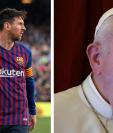 Lionel Messi es calificado por muchos como el 'dios' del futbol. (Foto Prensa Libre: AFP)