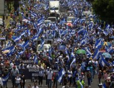 En abril del 2018 se agravó la crisis socio-política en Nicaragua. Surgieron enfrentamientos armados y protestas pacíficas. (Foto, Prensa Libre: Hemeroteca PL).
