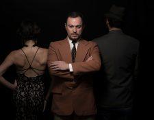 Erick Frías es uno de los personajes de Querida, el musical que se presentará durante mayo en Guatemala. (Foto Prensa Libre: Quinta Columna).