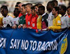 La Fifa quiere que se termine con el racismo en el futbol. (Foto Prensa Libre: Hemeroteca PL)
