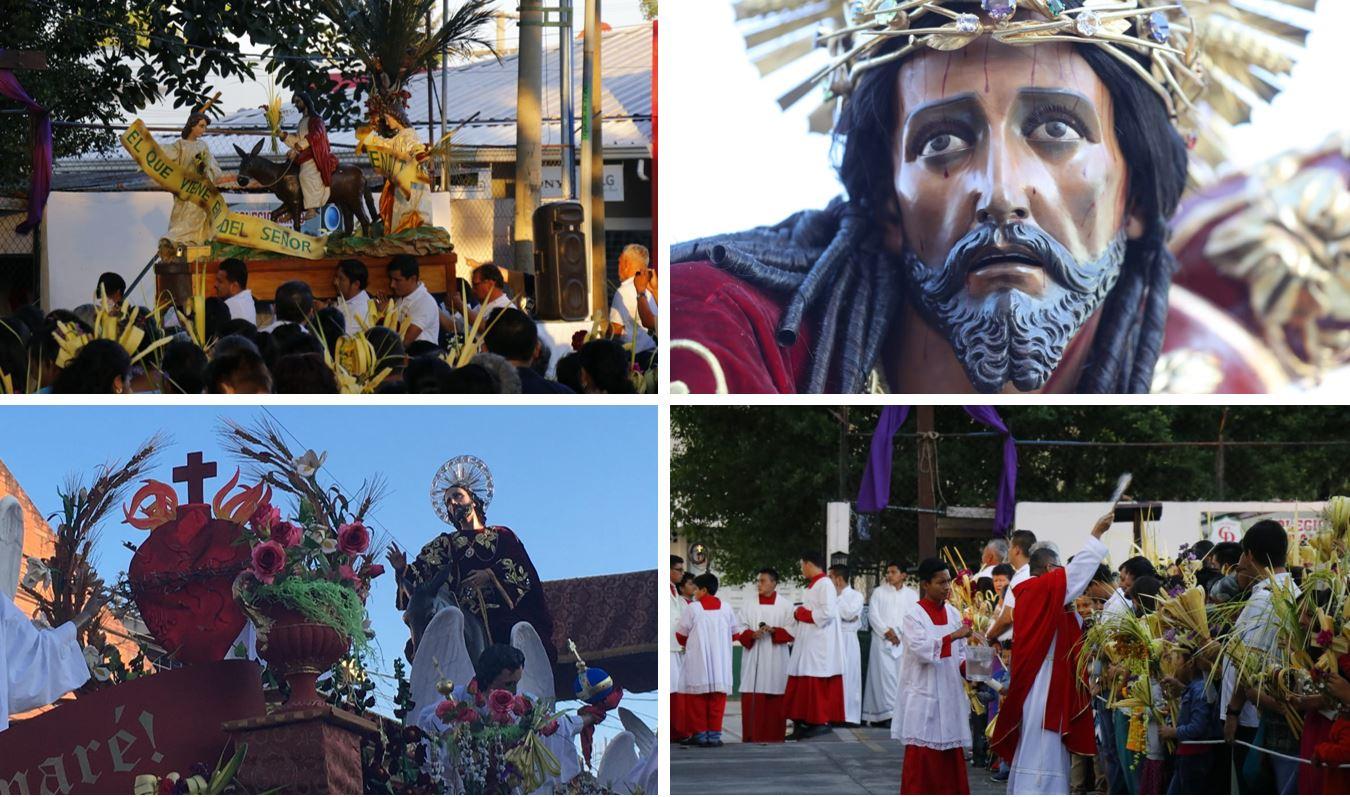 Tradiciones que se viven en Domingo de Ramos, en Guatemala. (Fotos Prensa Libre: O. Rivas, A. Cardona y R. Miranda)