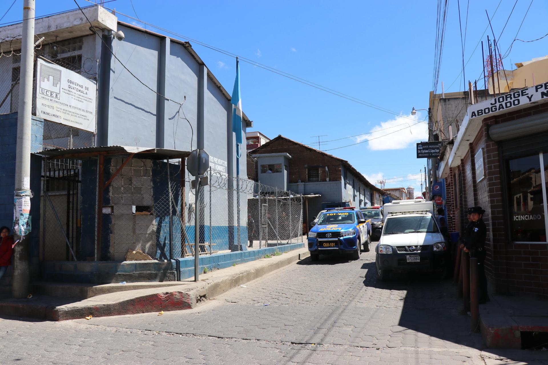 Preventivo para hombres de Santa cruz del Quiché donde hay más de 200 reos. (Foto Prensa Libre: Héctor Cordero).