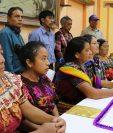 Mujeres indígenas de Quiché piden analizar el voto para no elegir a funcionario corruptos (Foto Prensa Libre: Héctor Cordero)