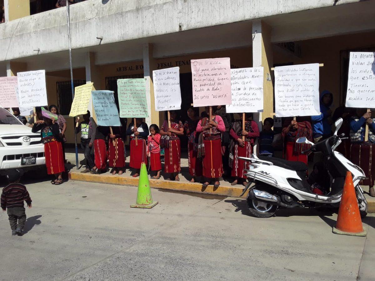 Compra de finca invadida causa controversia entre vecinos y autoridades indígenas en Nebaj