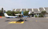 Con una inversión   cerca de medio millón de quetzales, ayer se reabrió el aeródromo San José, en Escuintla.