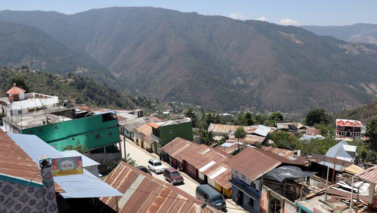 San Rafael La Independencia está asentado en los Cuchumatanes a más de dos mil 450 mt sobre el nivel del mar. (Foto Prensa Libre: Mike Castillo)
