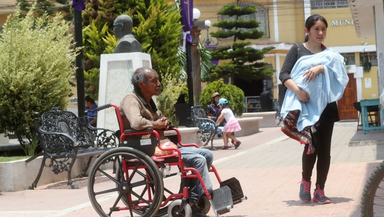 Salcajá es reconocido por iniciativas de inclusión para personas con discapacidad. (Foto Prensa Libre: Mynor Toc)