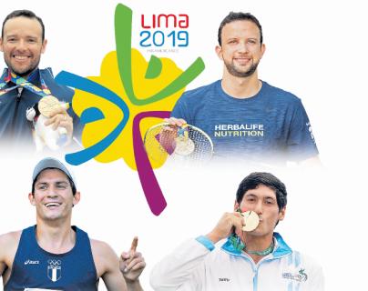 Guatemala sustenta mucha de sus esperanzas en estos experimentados atletas. (Foto Prensa Libre: Hemeroteca PL)
