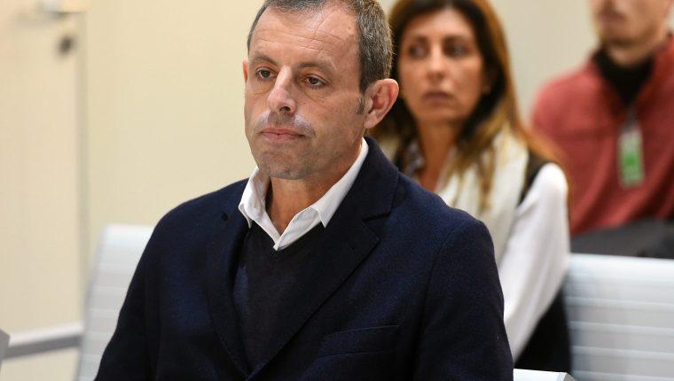 Sandro Rosell fue absuelto por la justicia. (Foto Prensa Lib: AFP)