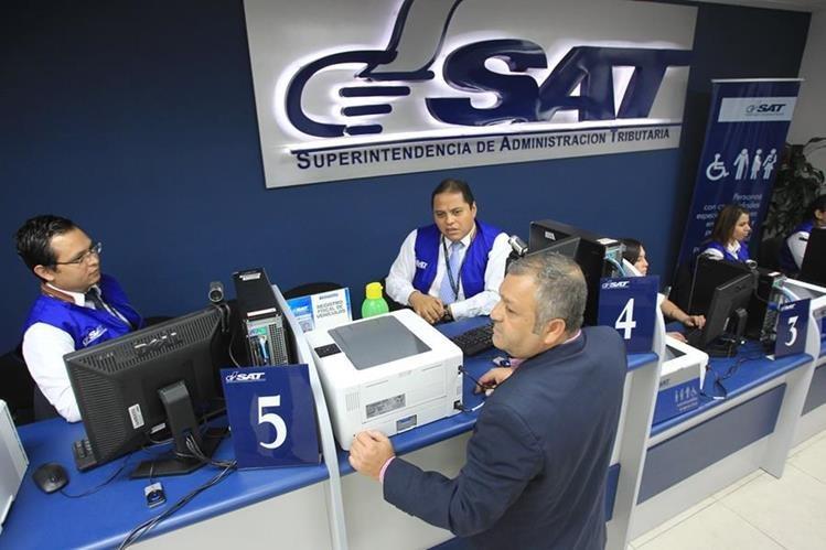 Los impuestos programados pero no recaudados alcanzan los Q762 millones durante el primer trimestre del año, reportó este Miércoles Santo la SAT. (Foto Prensa Libre: Hemeroteca)