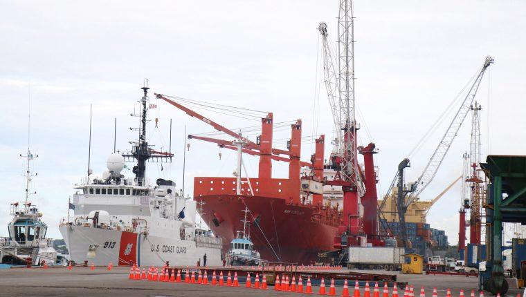La CPN informó de la caída de volumen de la carga marítima. (Foto, Prensa Libre: Hemeroteca PL).