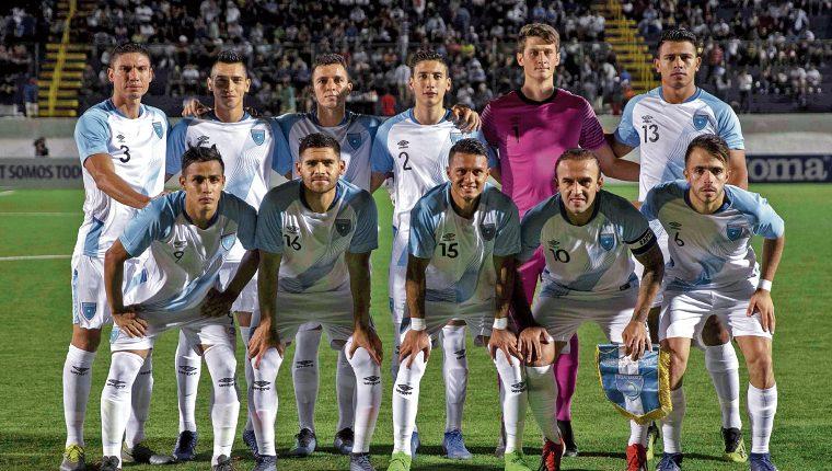 La Selección de Guatemala ahora espera para afrontar la Liga de Naciones. (Foto Prensa Libre: EFE)