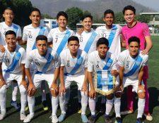 La Sub 17 de Guatemala se prepara en México, antes de participar en el Premundial de Bradenton, Florida. (Foto Prensa Libre: Fedefut).