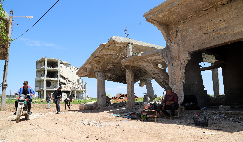 Siria permanece afectada por los bombardeos rusos. (Foto Prensa Libre: EFE).