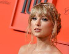 """La estrella del pop Taylor Swift promociona su nuevo single, """"ME!"""". (Foto Prensa Libre: AFP)"""