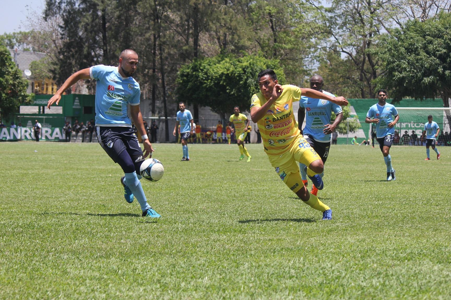 El delantero Gerson Tinoco ha marcado tres goles en el Clausura 2019. (Foto Prensa Libre: Luis López)