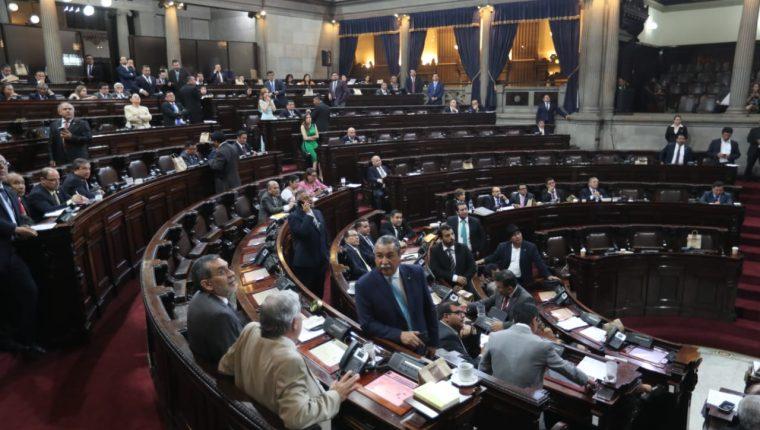 La ley fue aprobada con 124 votos a favor. (Foto Prensa Libre: Érick Ávila)