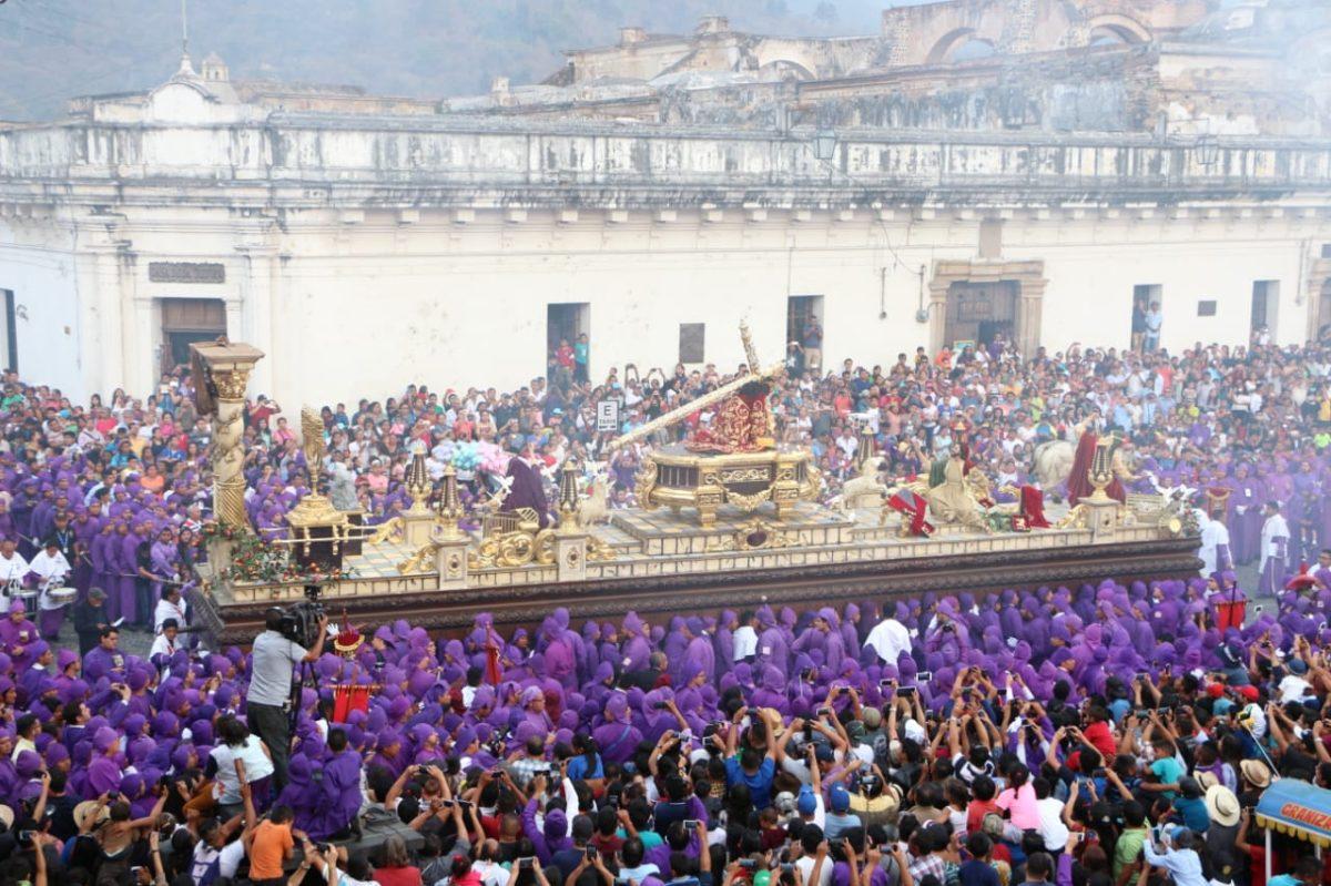 Habilitan plan de seguridad por procesión de Jesús de la Caída de San Bartolomé Becerra