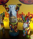 La exposición United Boddy Bears estará por primera vez en Guatemala. (Foto Prensa Libre: Eslly Melgarejo)