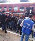 La PDH constató que en varios buses extraurbanos se cobran tarifas no autorizadas.(Foto Prensa Libre: cortesía PDH)