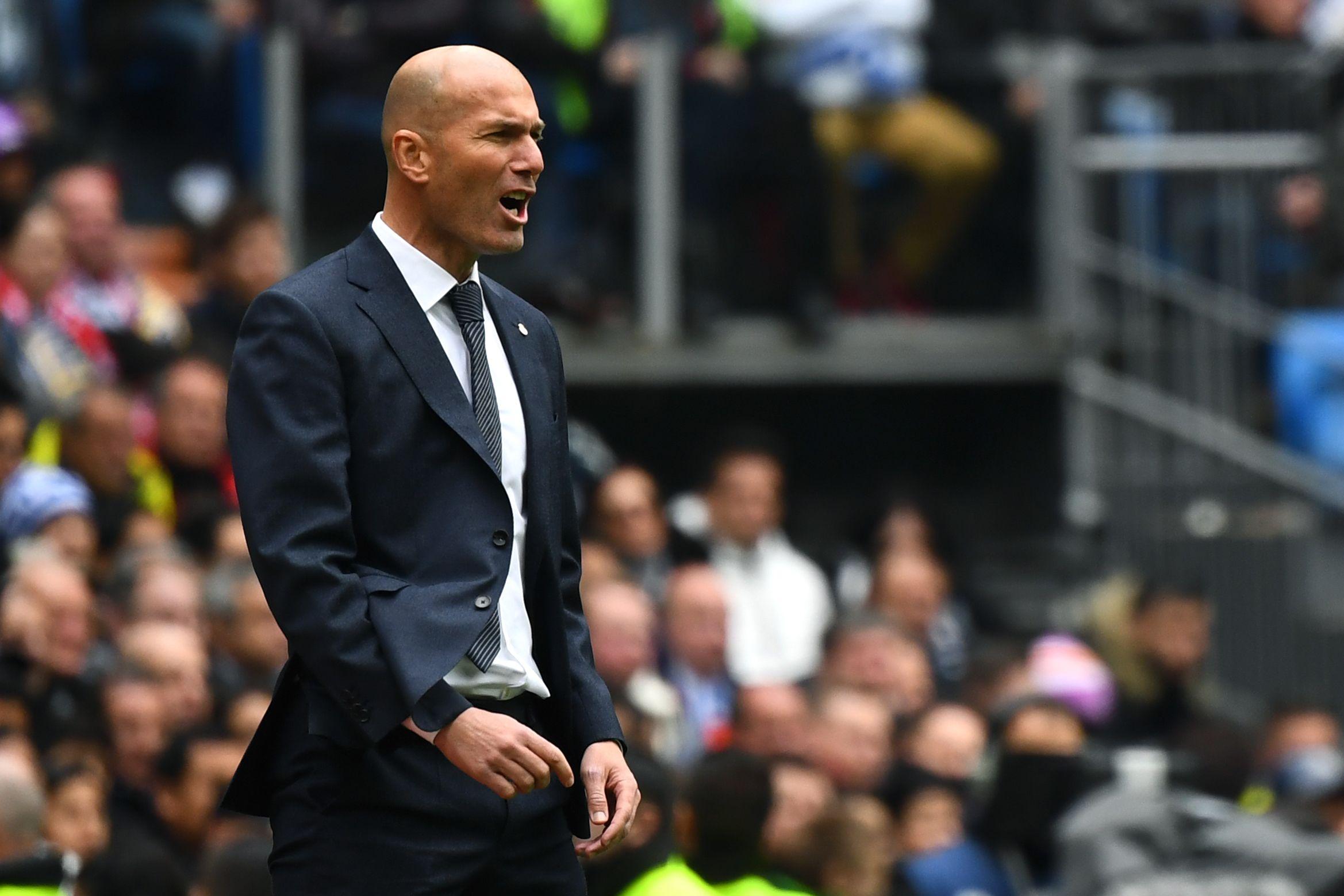 Zinedine Zidane tiene claro sus objetivos con el Real Madrid. (Foto Prensa Libre: AFP)