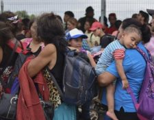Gobiernos de la región advierten de los riesgos que corren los niños en su travesía hacia EE. UU. (Foto: AFP)