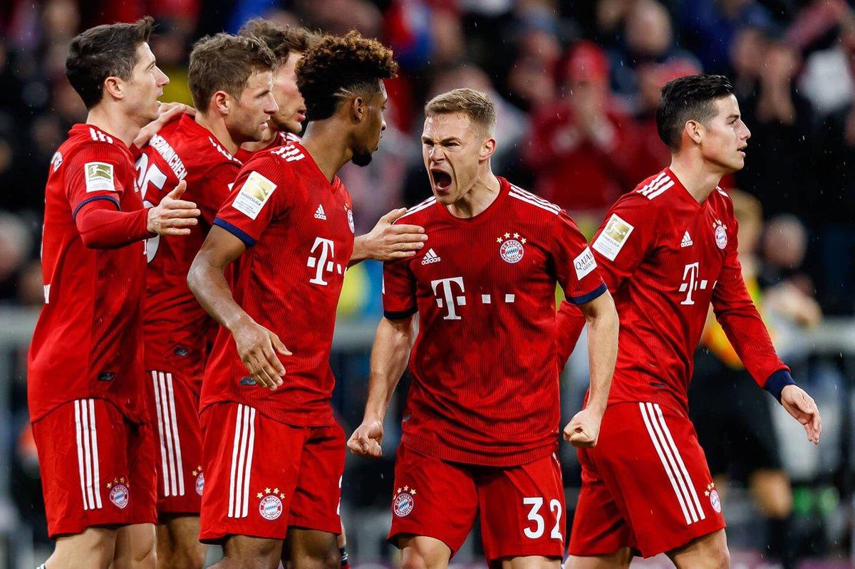El plantel del Bayern está listo para afrontar sus retos. (Foto Prensa Libre: Twitter)