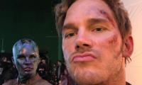Chris Pratt junto a Karen Gillan (Nebula) en el set de Avengers: Endgame (Foto Prensa Libre: Instagram/Chris Pratt