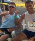 Érick Barrondo terminó en el segundo lugar en los 20 kilómetros de la Copa Panamericana de Marcha. (Foto COG).