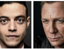 Rami Malek será el villano de la nueva cinta de James Bond, con Daniel Craig. (Foto Prensa Libre: Tomada de www.007.com)