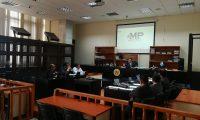 El juez Miguel Gálvez inició la repetición de la audiencia intermedia a Roberto Barreda por la desaparición de su esposa Cristina Siekavizza. (Foto Prensa Libre: Juan Diego González)