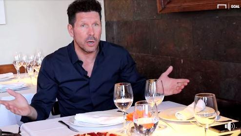 Diego Simeone compartió su opinión sobre Messi en una entrevista de  Goal.com. (Foto Redes).