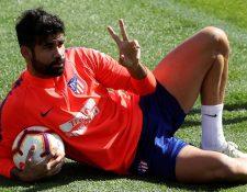 El delantero recibió una sanción de ocho partidos tras su expulsión contra el Barcelona. (Foto Prensa Libre: EFE)