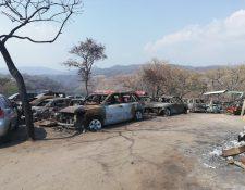 Los vehículos consignados en los predios están expuestos a robos y siniestros. (Foto Prensa Libre: Hemeroteca)