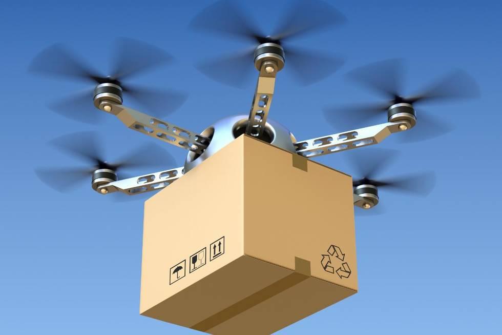 Según Wing, una empresa hermana de Google, sus drones han hecho unos 70,000 vuelos de prueba para hacer entregas de paquetes. (Foto Prensa Libre: Vanguardia.com.mx)