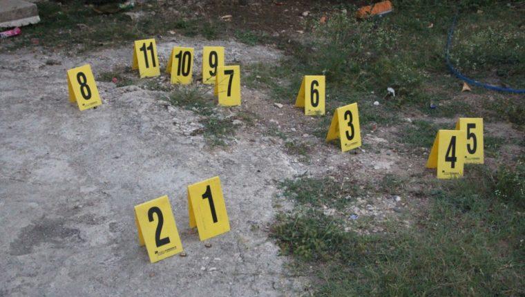 Evidencia que la PNC obtuvo en el lugar donde fueron ejecutadas tres mujeres en El Chal, Petén. (Foto: PNC)