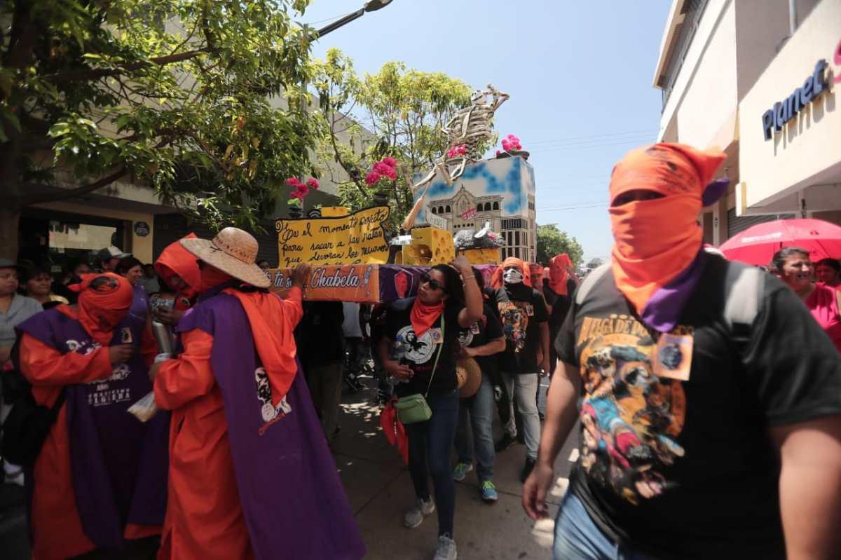 Fotogalería: tradicional Huelga de Dolores de la USAC