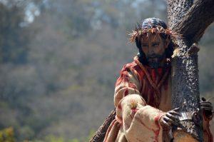 Jesús Nazareno de la Dulce Mirada es el protector de la aldea Santa Ana en Sacatepéquez. Foto Prensa Libre: Héctor González